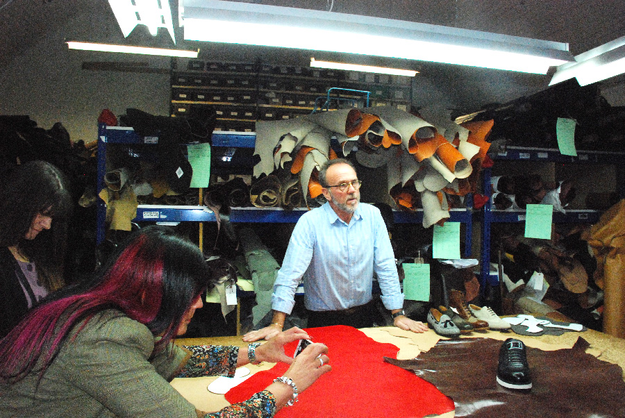 Cheaney Leather Room