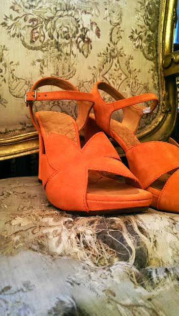 Chie Mihara Rossa in Orange £205