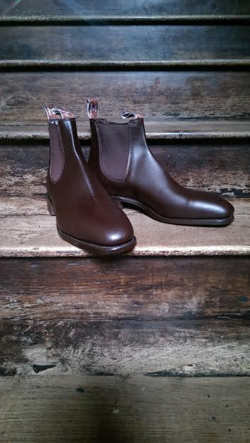 Craftsman Boot in Chestnut £350