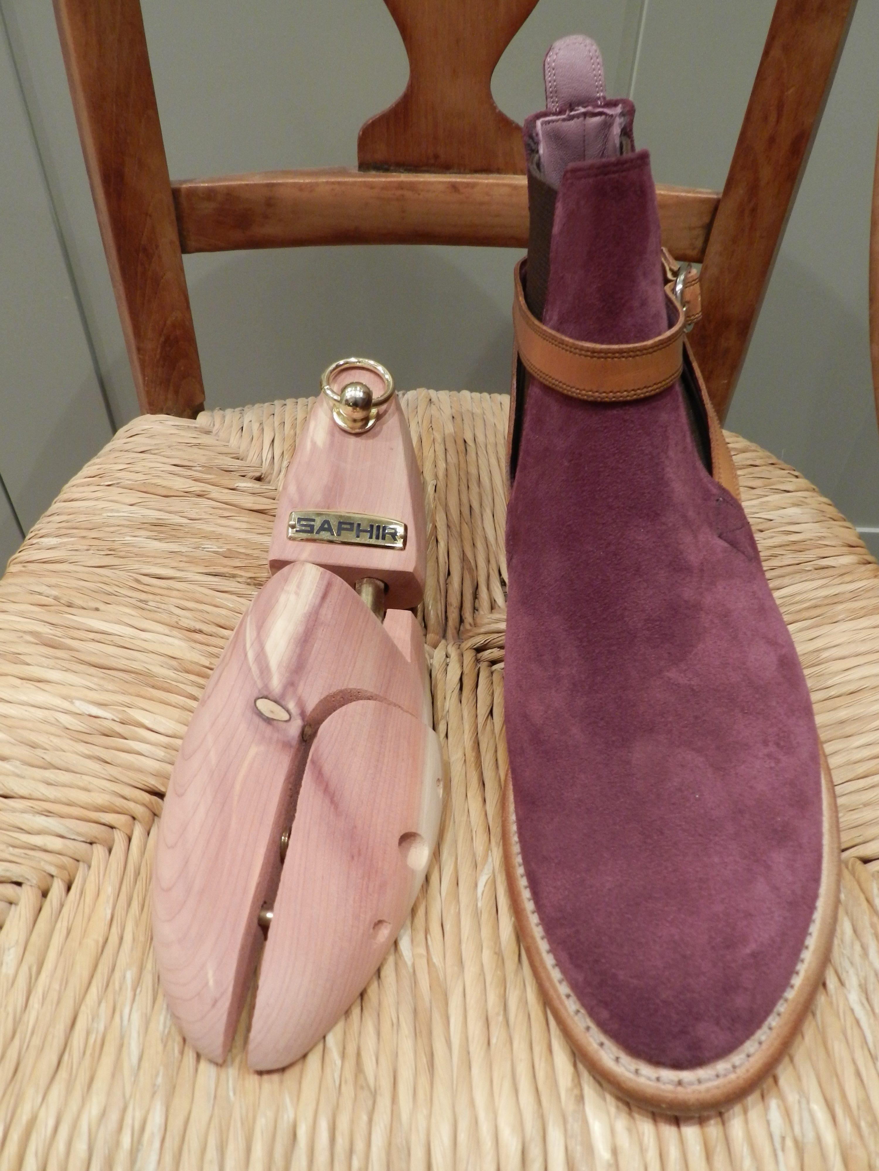 Saphir Cedar Shoe Trees £35.00