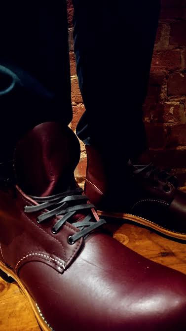 Red Wing 09011 in black cherry £279.