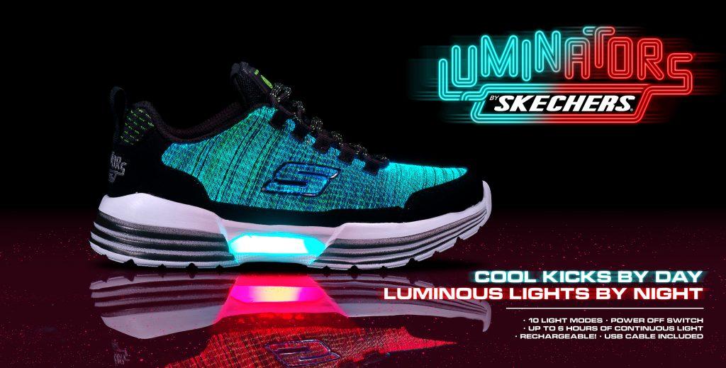 KIDS SKECHERS S Lights: Luminators