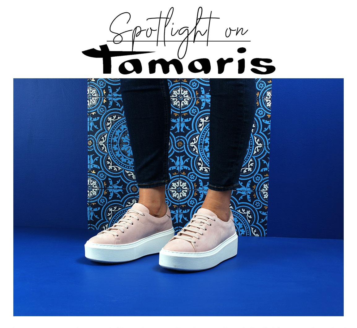 Tamaris Matilde 23773 Trainers in Soft Rose