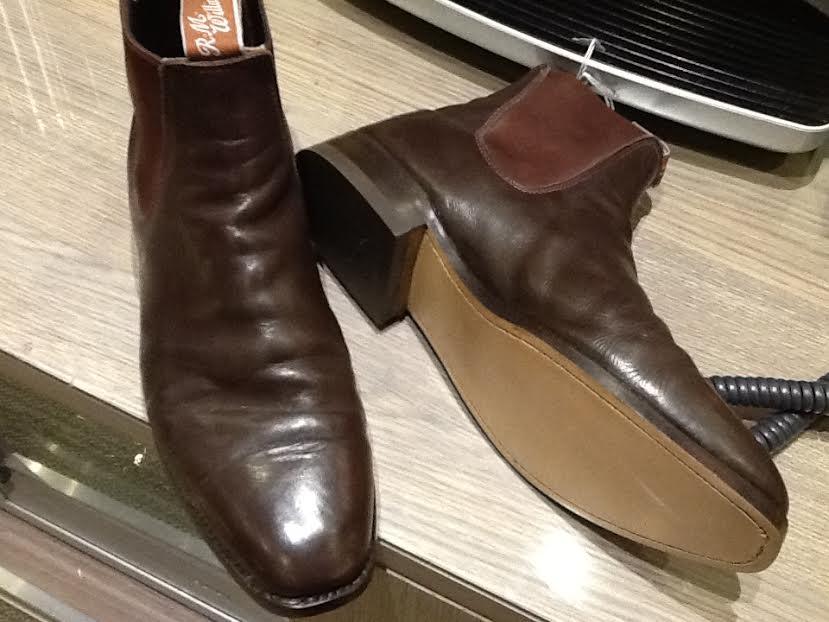 RM Williams Boot Repairs