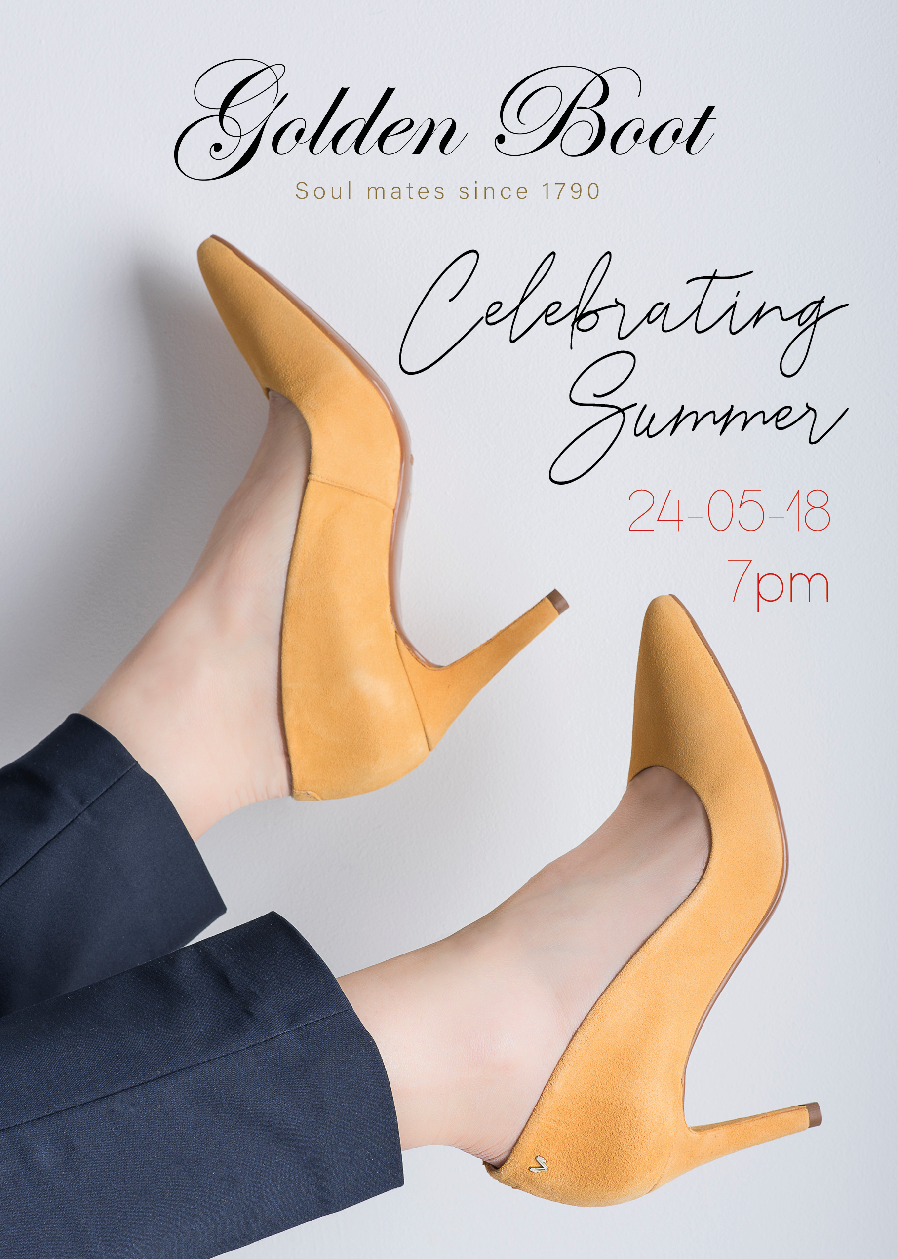 Celebrating Summer – Golden Boot Ladies' evening 2018