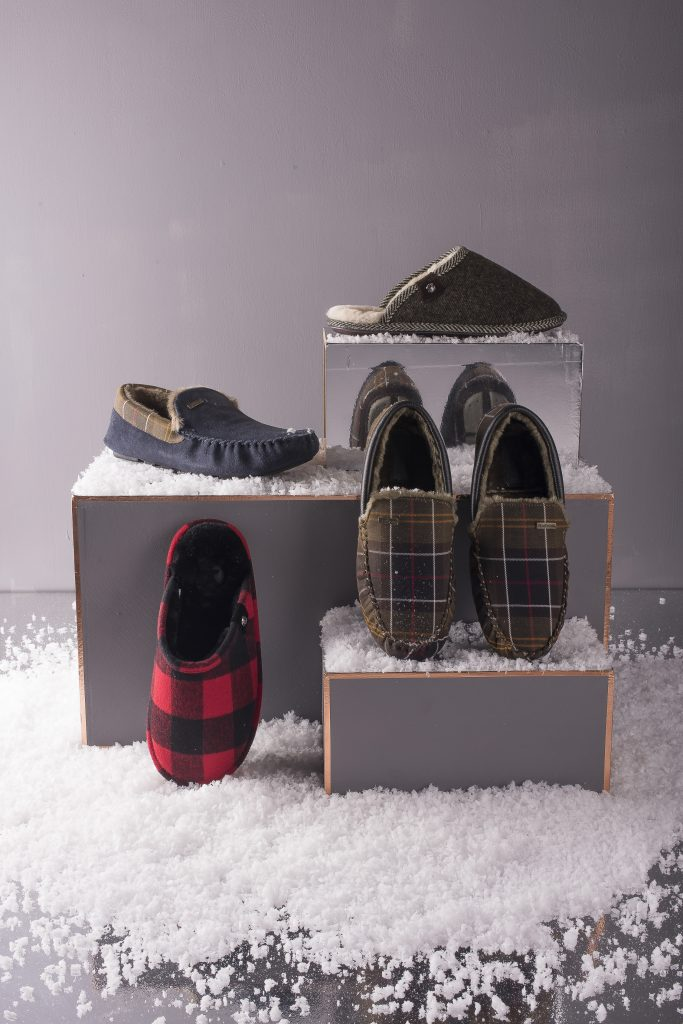 Our Men's Christmas slipper range – you'll never leave the house again!