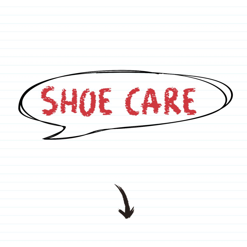 Look after your school shoes