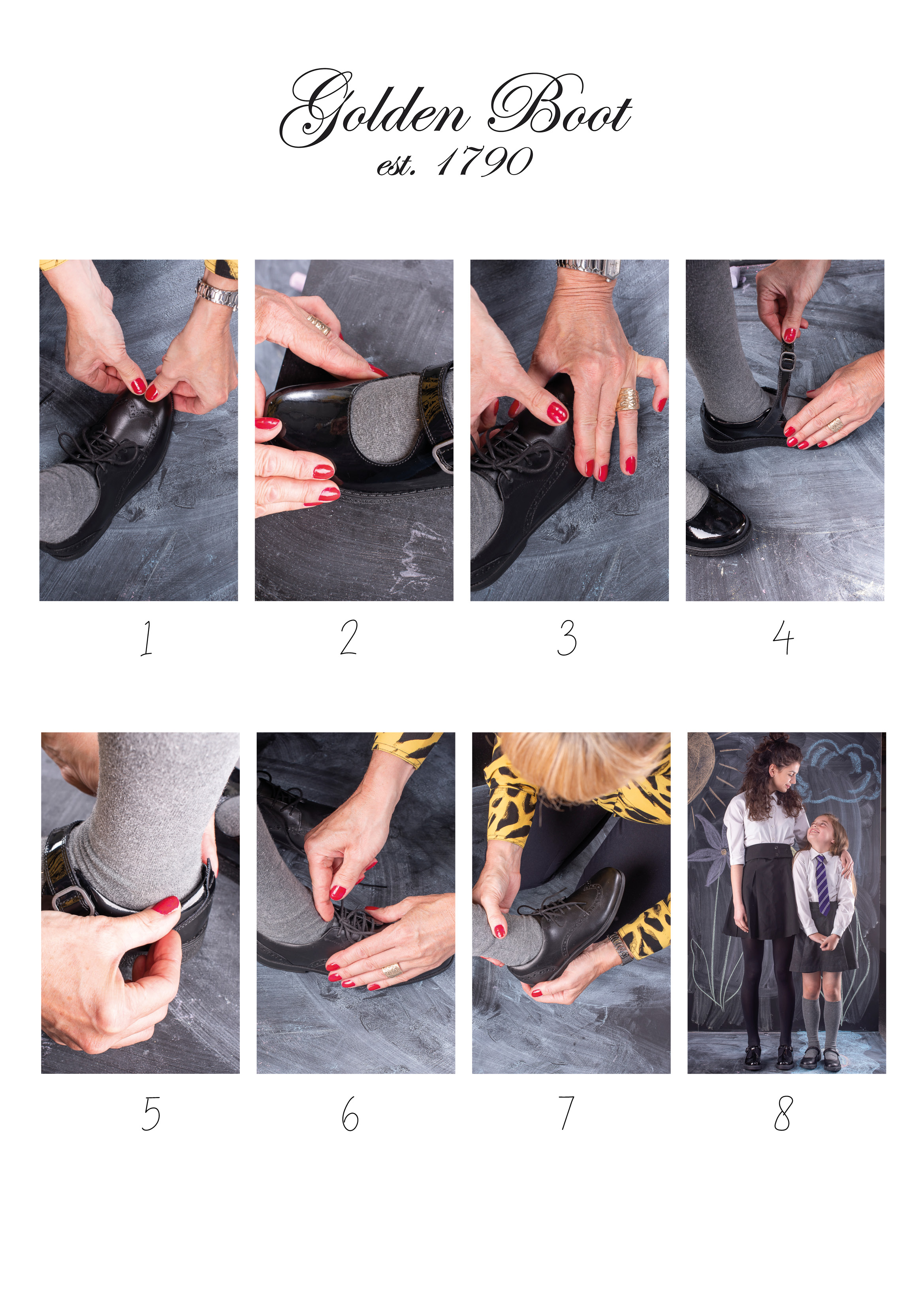Our guide to fitting shoes at home