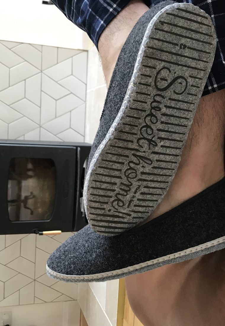 FREE SLIPPERS! Worth £29.99 with every men's order over £100