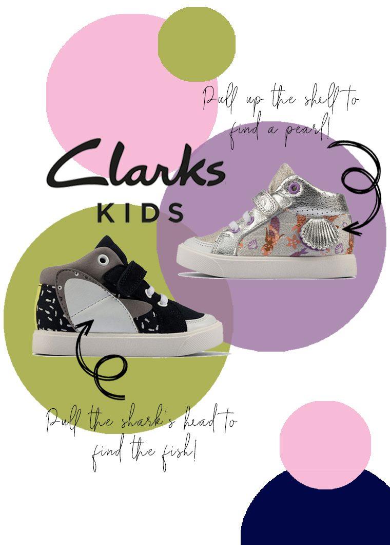 Clarks City Pop Toddler Hi Tops