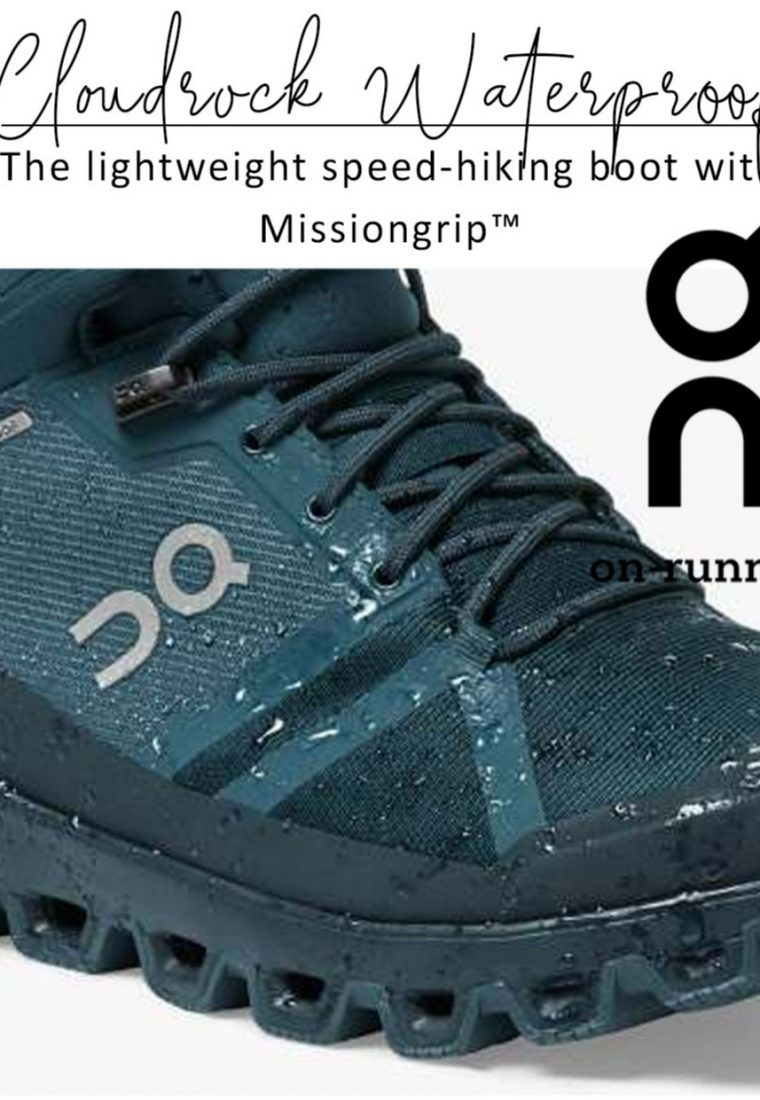 On Running Cloudrock Waterproof Hiking Boot