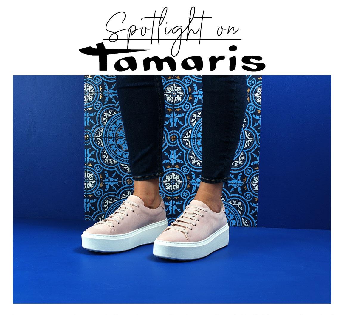 Spotlight On 'Tamaris Matilde 23773' Trainers in Soft Rose