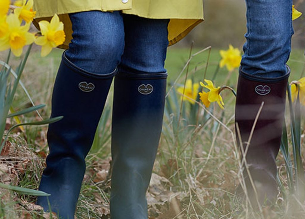 Meet our best selling jersey lined Wellies from Le Chameau