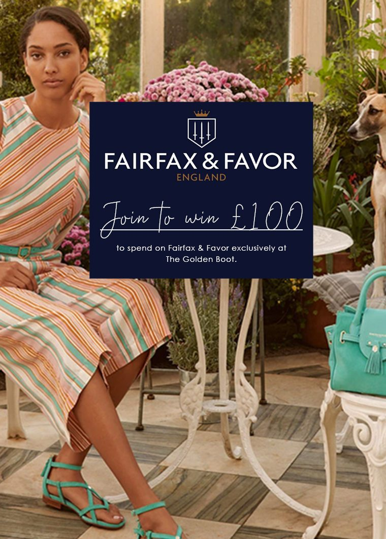 Join To Win £100 To Spend On Fairfax & Favor !